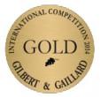 Médaille d'Or Gilbert & Gaillard 2014 (1)